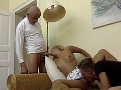 Anne Michelle Friends Having Carnal knowledge with Patriarch Free Porn