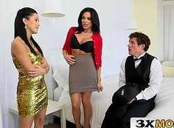 Mummy Entices Youthful Truss Procure a Grim 3Some - Jaclyn Taylor, Megan Spill