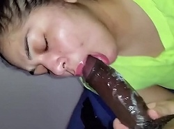 spanish freak engulfing dick