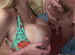 Peaches soccer nourisher Tara Acolyte receives the brush grand tits unseeable round cum